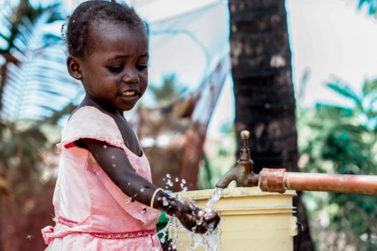 Water for drinking, hygiene and sustainable food sources