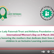 International Women's Day 2021 - Honouring Mothers of children with different abilities
