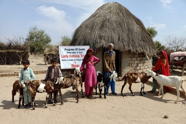 The LFT Goat Farming Program