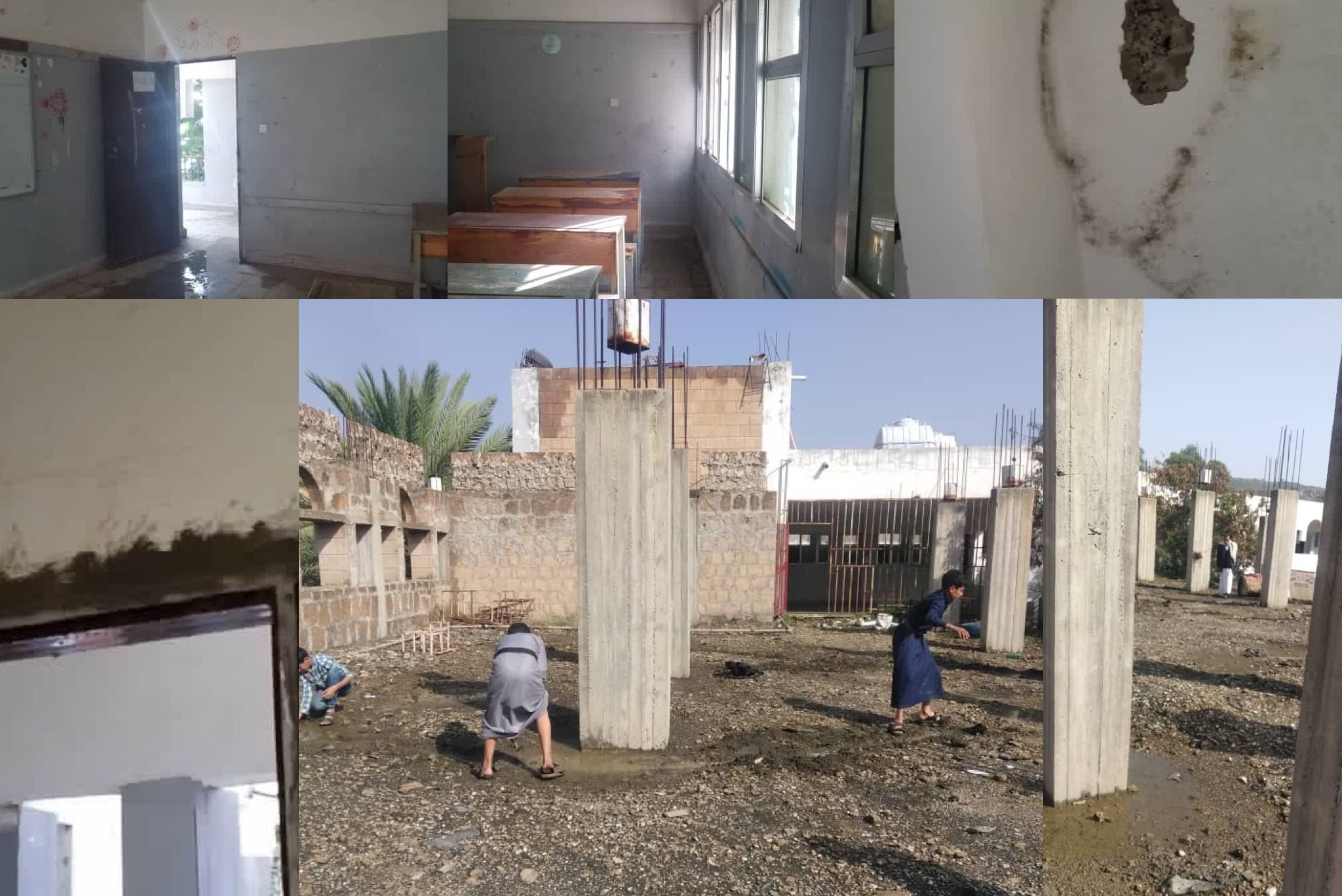 #LFT Yemen – Zaid al Mushaki School in Al-Sabeen District of Sanaa Yemen 🇾🇪